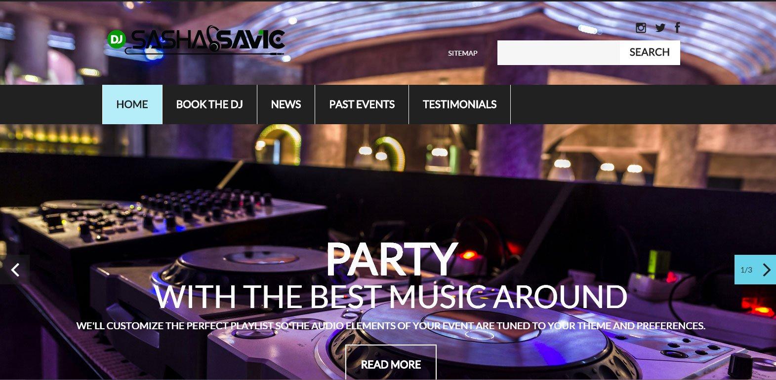 DJ Sasha Savic