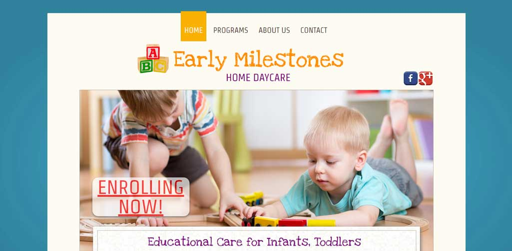 Early Milestones Home Daycare