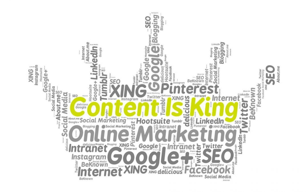 Why Great Content is Key to Online Marketing